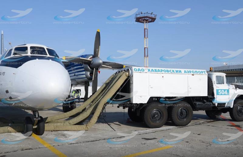 Обогреватель воздушных судов Sea 200 hot air.