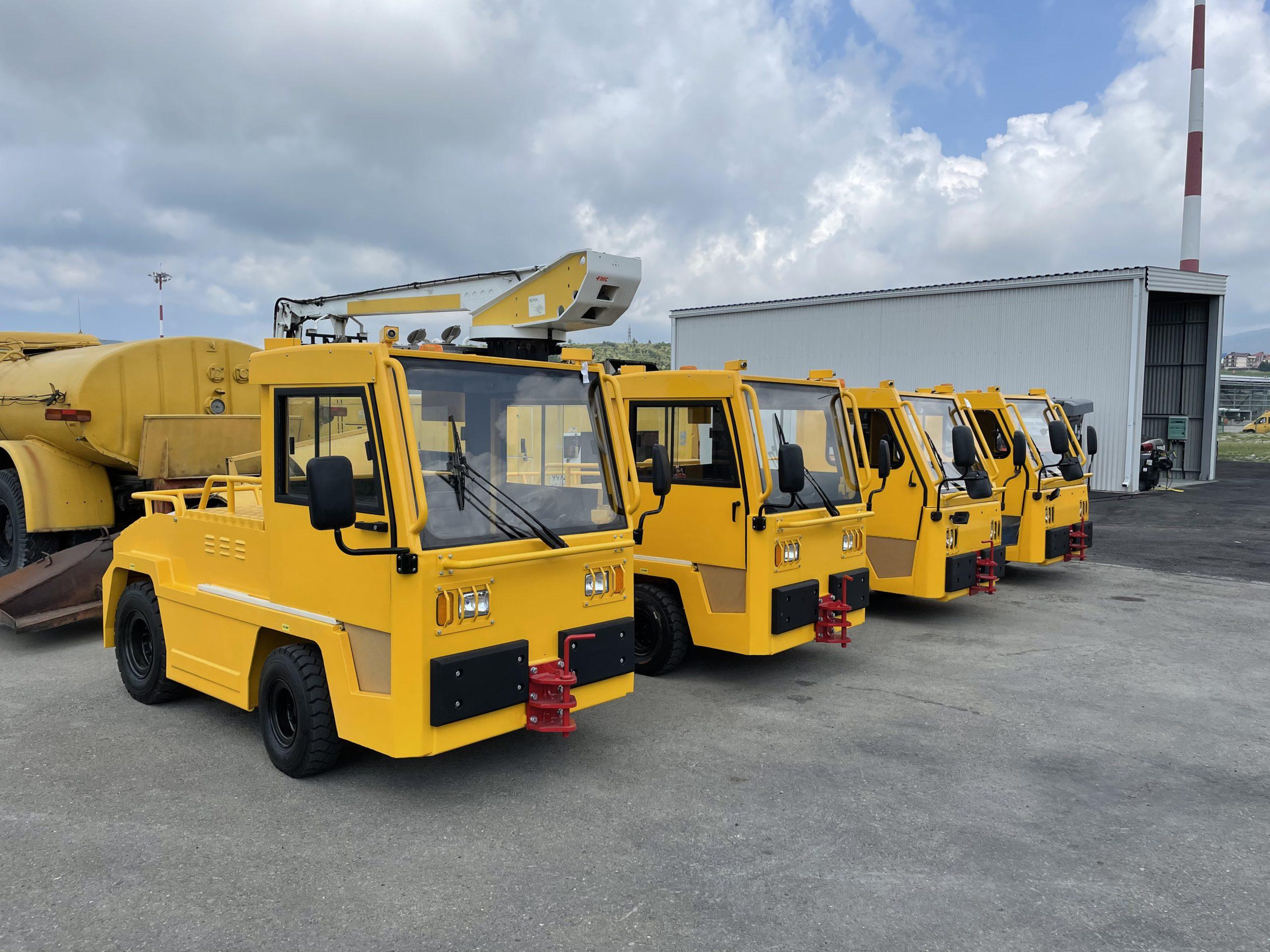 4 Багажных тягача SEA TI25 для Аэропорта Геленджик